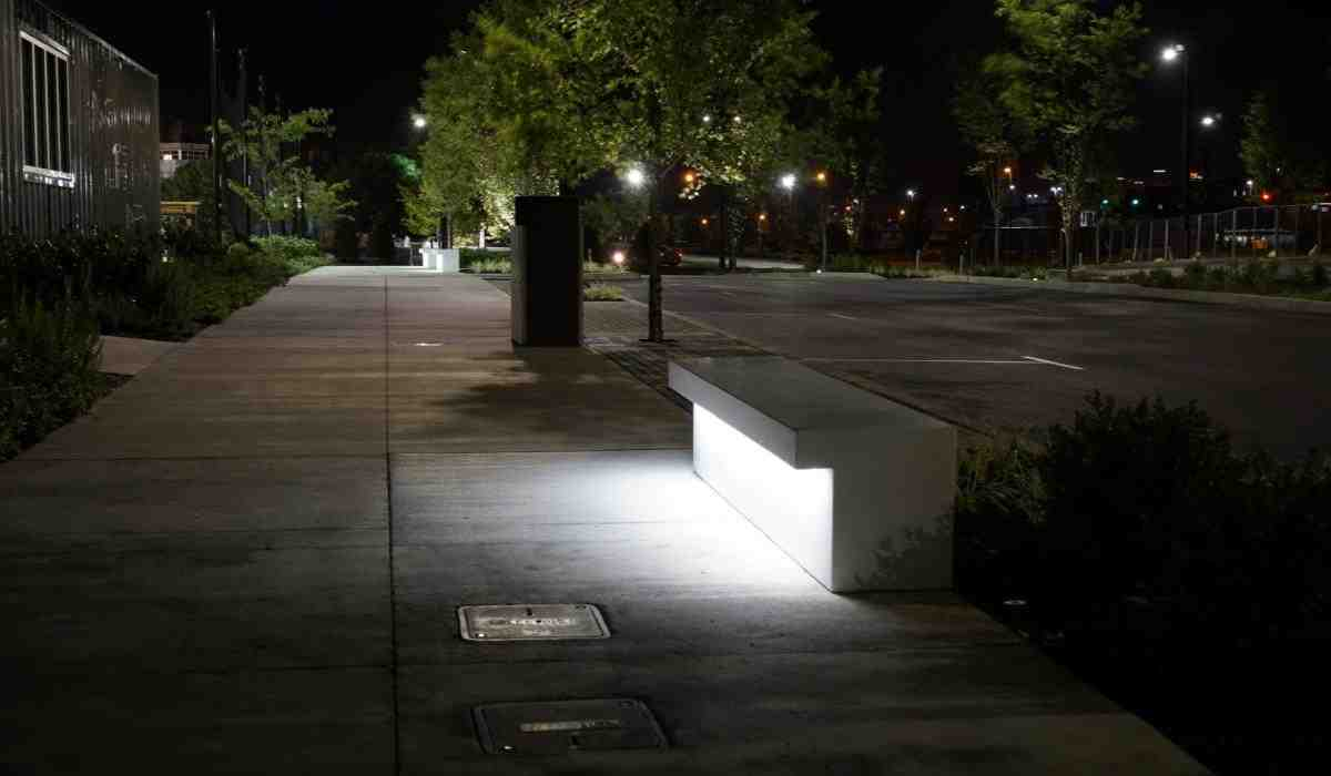 nashville, led, bench